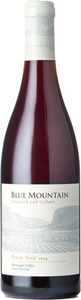 Blue Mountain Estate Pinot Noir Blue Mountain Vineyard 2014, Okanagan Valley Bottle