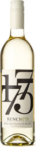 Bench 1775 Sauvignon Blanc 2015, BC VQA Okanagan Valley Bottle