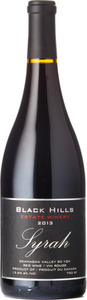 Black Hills Syrah 2013, BC VQA Okanagan Valley Bottle