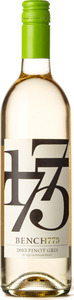 Bench 1775 Pinot Gris 2015, VQA Okanagan Valley Bottle