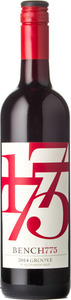 Bench 1775 Groove Red 2014, Okanagan Valley Bottle