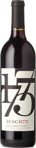 Bench 1775 Cabernet Sauvignon Merlot 2013, Okanagan Valley Bottle