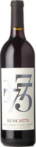Bench 1775 Cabernet Franc Malbec 2013, Okanagan Valley Bottle