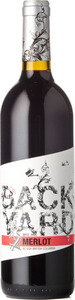Backyard Merlot 2013, BC VQA Fraser Valley Bottle