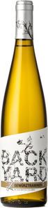 Backyard Vineyards Gewurztraminer 2015, British Columbia Bottle