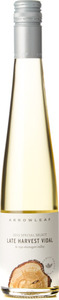 Arrowleaf Vidal Select Late Harvest 2015, Okanagan Valley (375ml) Bottle