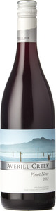 Averill Creek Pinot Noir 2012, Vancouver Island, B.C. Bottle