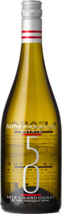 50th Parallel Chardonnay 2014, BC VQA Okanagan Valley Bottle
