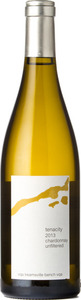 16 Mile Cellar Tenacity Chardonnay Unfiltered 2013, Beamsville Bench Bottle