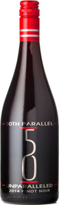 50th Parallel Unparalleled Pinot Noir 2014, Okanagan Valley Bottle
