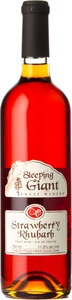 Sleeping Giant Strawberry Rhubarb Bottle