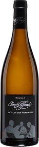 Domaine Claude Lafond Reuilly Le Clos Des Messieurs 2015, Reuilly Bottle