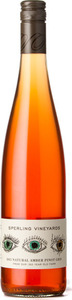 Sperling Natural Amber Pinot Gris 2015, Okanagan Valley Bottle