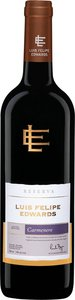 Luis Felipe Edwards Reserva Carmenère 2014 Bottle