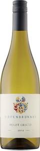 Tiefenbrunner Pinot Grigio 2014, Igt Vigneti Delle Dolomiti Bottle