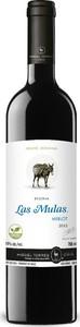 Las Mulas Reserva Merlot 2015 Bottle
