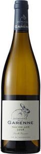 Domaine De La Garenne Mâcon Azé 2014 Bottle