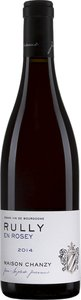 Domaine Chanzy Rully En Rosey Pinot Noir Côte Chalonnaise 2014 Bottle
