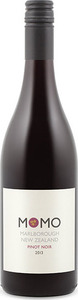 Momo Pinot Noir 2013, Marlborough, South Island Bottle