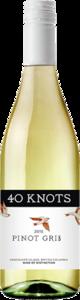 40 Knots Pinot Gris 2015 Bottle