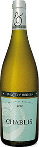 P.L. & J.F. Bersan Chablis 2013 Bottle
