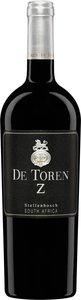 De Toren Z 2013, Wo Stellenbosch Bottle