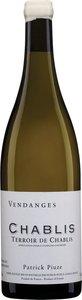 Patrick Piuze Terroirs De Chablis 2015, Chablis Bottle