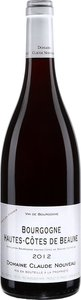 Domaine Claude Nouveau Hautes Côtes De Beaune 2013, Bourgogne Bottle