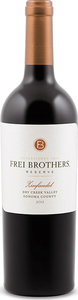 Frei Brothers Reserve Zinfandel 2014, Dry Creek Valley, Sonoma County Bottle