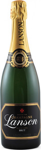 Lanson Black Label Brut Champagne Bottle