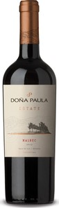 Doña Paula Estate Malbec 2014, Valle De Uco, Mendoza Bottle