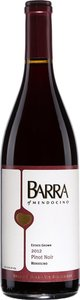 Barra Of Mendocino Pinot Noir 2014, Redwood Valley, Mendocino Bottle