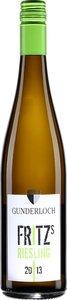 Gunderloch Fritz's Riesling 2015 Bottle