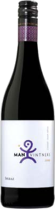 Man Vintners Shiraz 2014, Wo Coastal Region Bottle