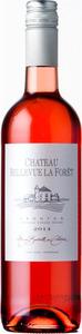 Château Bellevue La Forêt Rosé 2015, Ac Fronton Bottle