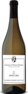The Grange Of Prince Edward Select Pinot Gris 2014, Prince Edward County Bottle