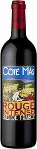 Cote Mas Rouge Intense 2015, Vins De Pays D 'oc Bottle