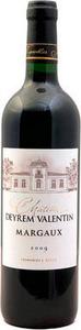 Château Deyrem Valentin 2012, Ac Margaux Bottle
