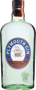 Plymouth English Gin Bottle