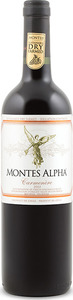 Montes Alpha Carmenère 2013, Colchagua Valley Bottle