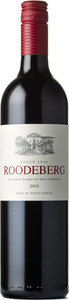 K W V Roodeberg 2014, Western Cape Bottle