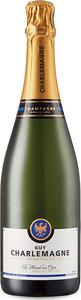 Guy Charlemagne Blanc De Blancs Grand Cru Réserve Brut Champagne, Ac Bottle