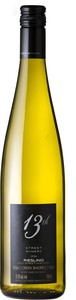 13th Street Vineyard Riesling 2014, VQA Creek Shores, Niagara Peninsula Bottle