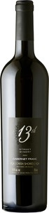 13th Street Reserve Cabernet Franc 2012, Creek Shores Bottle