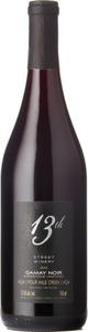 13th Street Gamay Noir Sandstone Vineyard 2014, Four Mile Creek Bottle