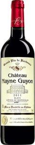 Château Mayne Guyon 2014, Blaye Ctes De Bordeaux Bottle