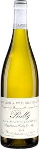 Domaine De Villaine Les St Jacques Rully 2013 Bottle