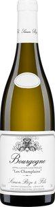 Domaine Simon Bize & Fils Les Champlains 2013 Bottle