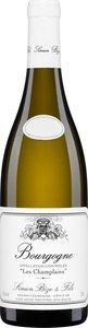 Domaine Simon Bize & Fils Les Champlains 2014 Bottle