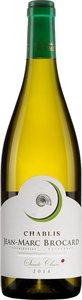 Jean Marc Brocard Domaine Sainte Claire Chablis 2014, Ac Bottle